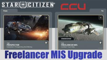 A CCU Upgrade -MISC Prospector to MISC Freelancer MIS