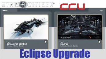 A CCU Upgrade - Aegis Retaliator Bomber to Aegis Eclipse