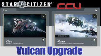 A CCU Upgrade - Aegis Sabre to Aegis Vulcan