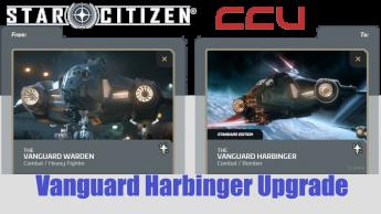 A CCU Upgrade - Aegis Vanguard Warden to Vanguard Harbinger