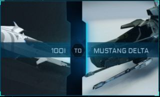 100i to Mustang Delta Upgrade CCU
