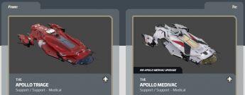 Apollo Triage to Apollo Medivac Upgrade CCU