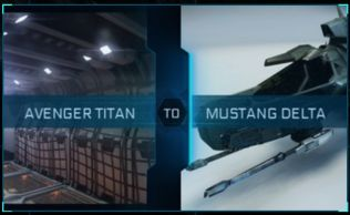 Avenger Titan to Mustang Delta Upgrade CCU