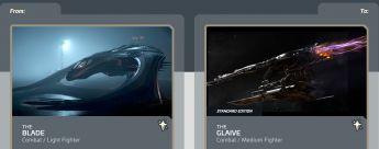 Blade to Glaive Upgrade CCU