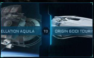 Constellation Aquila to 600i Touring CCU Upgrade