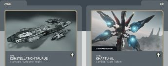 Constellation Taurus to Khartu-Al Upgrade CCU