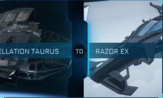 Constellation Taurus to Razor EX Upgrade CCU