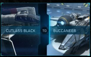 Cutlass Black to Buccaneer Upgrade CCU
