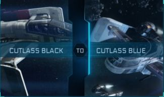 Cutlass Black to Cutlass Blue Upgrade CCU