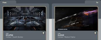 Eclipse to Glaive Upgrade CCU