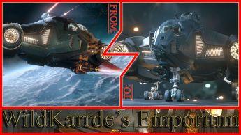 Aegis Vanguard Hoplite to Aegis Vanguard Warden CCU