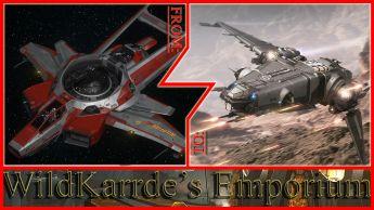 Anvil F7C Hornet Wildfire to Drake Corsair CCU
