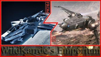 Anvil F7C-M Super Hornet to Drake Corsair CCU