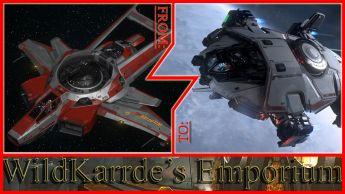 Anvil F7C Hornet Wildfire to Anvil Terrapin CCU