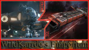 Aegis Vanguard Warden to Drake Caterpillar CCU