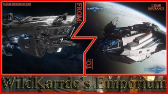 Argo Mole Carbon to Anvil Carrack CCU - Subscriber Exclusive w/ Name Reservation