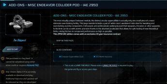 Collider Pod Module 10yrs Ins - IAE 2950