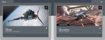 Corsair to Scorpius (CCU - Upgrade)