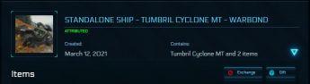 Tumbril Cyclone MT Standalone LTI