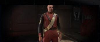 Second Teravin War Red Dress Uniform