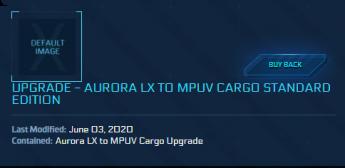 Aurora LX to Mpuv Cargo ( CCU )