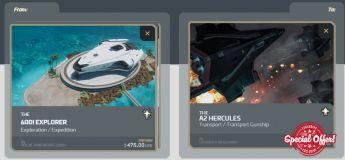 600i Explorer to A2 Hercules Upgrade CCU
