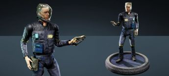 "Takuetsu ""Armin Trask"" Replica Figure - Centurion"