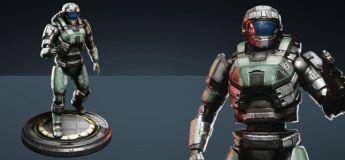 """Takuetsu """"Recon Marine"""" Replica Figure - Centurion"""