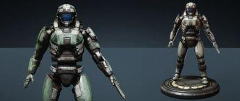 """Takuetsu """"Recon Marine"""" Replica Figure - Imperator"""