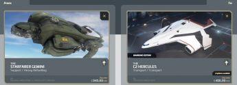 Upgrade Starfarer Gemini to C2 Hercules