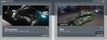 Upgrade Cutlass Black to Nova Tank with 10 yrs ins!!!!
