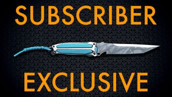 """A Ultiflex FSK-8 """"Ghost"""" Combat Knife - Subscribers Exclusive"""