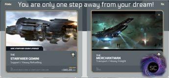 Flash Sale > Starfarer Gemini to Banu Merchantman Upgrade
