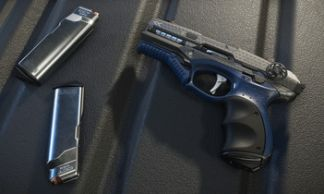 Gemini LH86 Pistol - Voyager edition