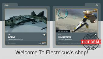 Gladius to Mako Upgrade CCU