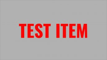 Test Item 1 - Please do not purchase