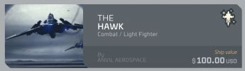 Anvil Hawk upgrade - from Drake Herald