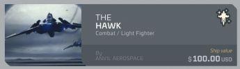 Anvil Hawk upgrade - from Reliant Sen