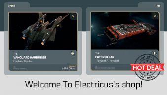Vanguard Harbinger to Drake Caterpillar Upgrade CCU
