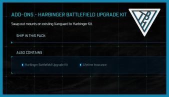 Harbinger Battlefield Upgrade Kit - LTI