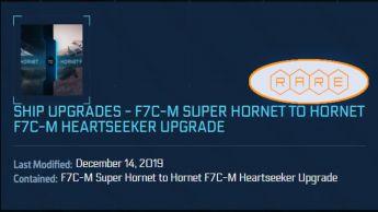 Ship Upgrade - F7C-M Super Hornet to Hornet Heartseeker - CCU