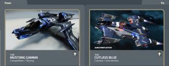 Mustang Gamma to Cutlass Blue Subscriber-Upgrade