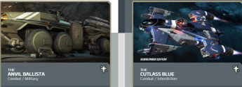 Anvil Ballista to Cutlass Blue Subscriber-Upgrade