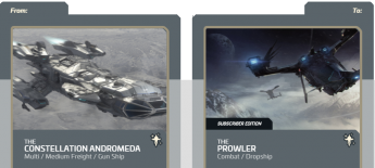 Andromeda to Prowler Subscriber Edition