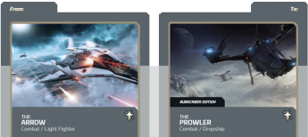 Arrow  to Prowler Subscriber Edition