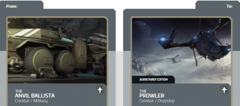 Anvil Ballista to Prowler Subscriber Edition