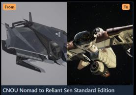 Upgrade - CNOU Nomad to Reliant Sen