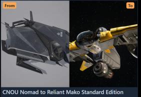 Upgrade - CNOU Nomad to Reliant Mako