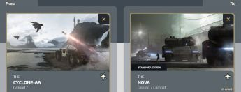 Cyclone-AA to Nova Tank Upgrade