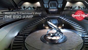 Origin 890 Jump IAE - 10 years insurance - standalone ship